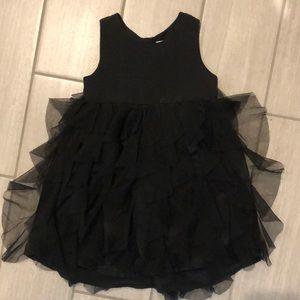 HM black dress - toddler girls